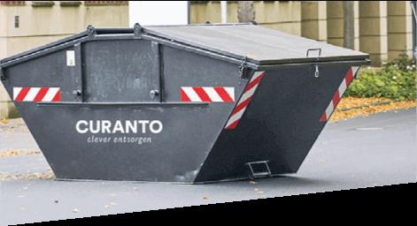 curanto containerdienst partner mehr umsatz weniger aufwand